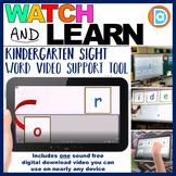 Kindergarten Grade Sight Word Fluency Resource   RTI   Or