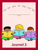 Sight Word Journal 3 - NO PREP
