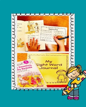 Sight Word Journal