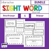 Sight Word Journal BUNDLE
