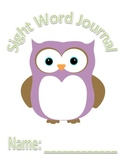 Sight Word Journal Fry Words 1-20