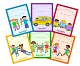 Sight Word Journals 1 through 6 BUNDLE - NO PREP