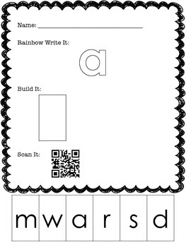 Sight Word Journey: Activities with QR Codes
