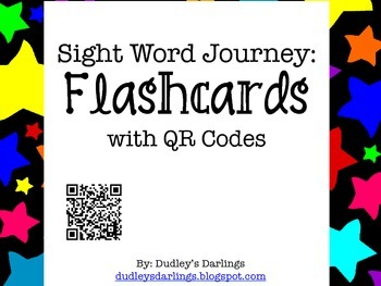 Sight Word Journey: Flashcards with QR Codes