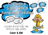 Sight Word Jumping Puddles