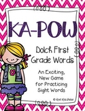 Sight Word Literacy Game Center Kapow First Grade List