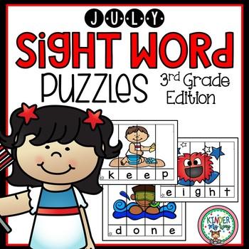 Sight Word Kindergarten Practice