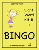 Best Sight Word Kit B + BINGO  (LTR) (Distance Learning)