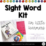 Sight Word Kit for Little Learners - Editable Add your own