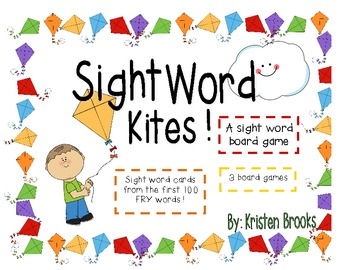 Sight Word Kites! A Spring Board Game (Fry Words)