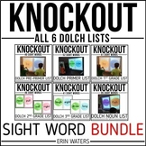 Sight Words | Sight Word Game | End of the Year Review | Knockout Bundle