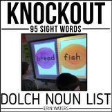 Sight Word Knockout {Dolch Nouns}