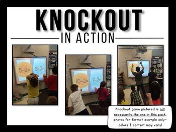 Sight Word Knockout {Dolch Primer}