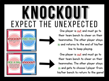 Sight Word Knockout {Dolch Third Grade}