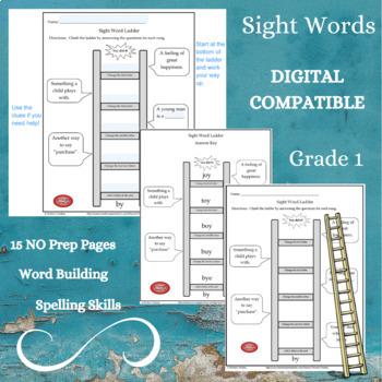 Sight Word Ladder Grade 1