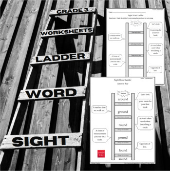 Sight Word Ladder Grade 3