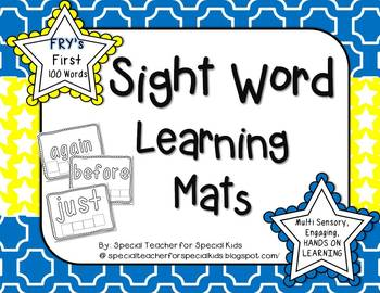 Sight Word Learning Mats