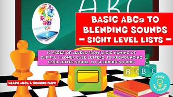 Sight Word Levels - Basic ABCs to Blending Sounds