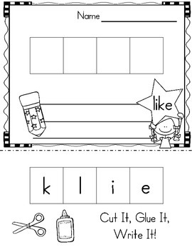 Sight Word of the Week (13 Activities for the word LIKE)