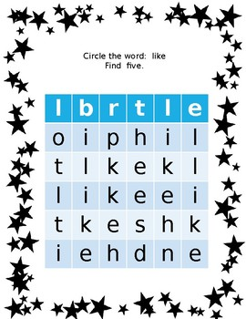 Sight Word - Like