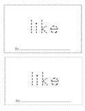 Sight Word 'Like' Book