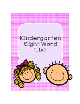 Sight Word List