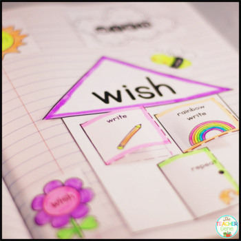 Sight Word Interactive Notebook Bundle: Second Grade List