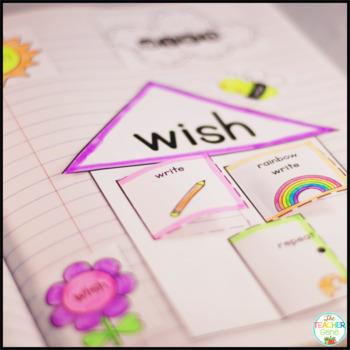 Sight Word Interactive Notebook Bundle: Second Grade List