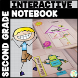 Sight Word Interactive Notebook Bundle Second Grade List