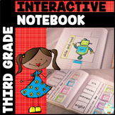 Sight Word Interactive Notebook Bundle: Third Grade List