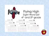 Sight Word List (Flying High)