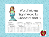 Sight Word List (Word Waves)