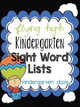 Sight Word Lists