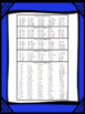 Sight Word Lists and Progress Monitoring BUNDLE (1-500 FRY Words)