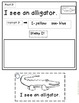 Sight Word Literacy Center: Read It, Highlight It, Stamp It, Ring It