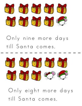 Santa Sight Word Literacy and Fluency Packet