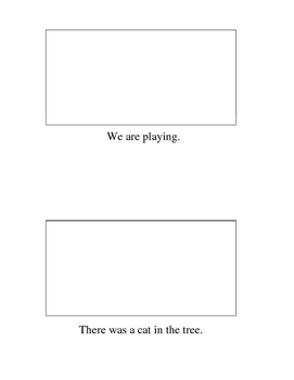 Kinder or FIRST GRADE SIGHT WORD Little Book Printable Read and Draw