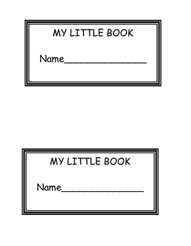 Kinder or FIRST GRADE SIGHT WORD Little Book Printable Rea