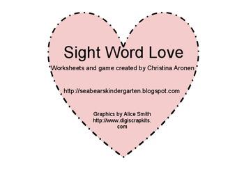 Sight Word Love