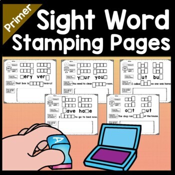 Sight Word ME {2 Sight Word Books and 4 Worksheets!}