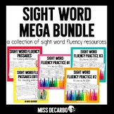 Sight Word Fluency MEGA BUNDLE for Distance Learning