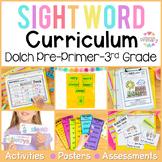 Dolch Sight Words Program (pre-primer, primer, first, second grade)