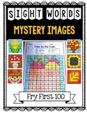 Sight Word MORNING WORK: Fall Mystery Pictures