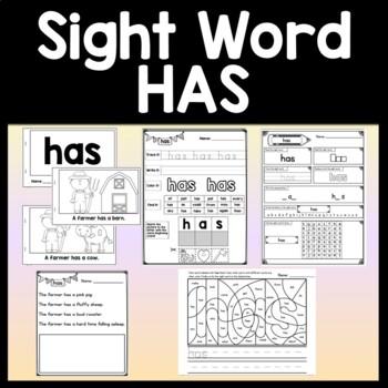 Sight Word MY Activities {6 Literacy Center Activities!}