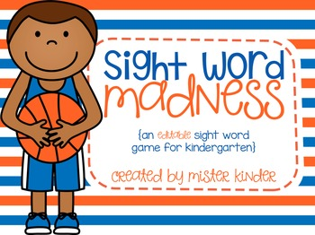 Sight Word Madness