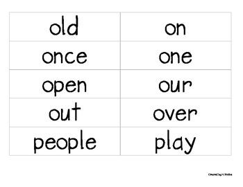 Sight Word Make-It-Station (grade1)