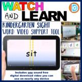 RTI | Kindergarten & First Grade Sight Word Fluency Resource | Sit