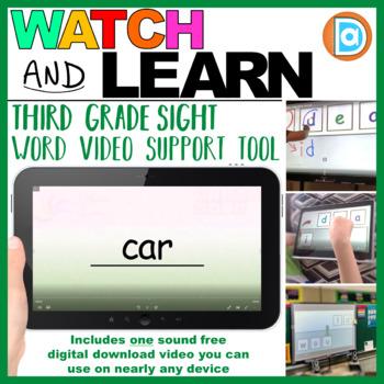 Sight Word Maker | Video | 3rd Grade | Car