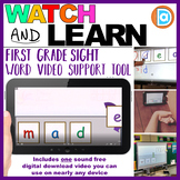 RTI | Kindergarten & First Grade Sight Word Fluency Tool | Made