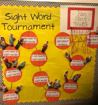 Sight Word March Madness